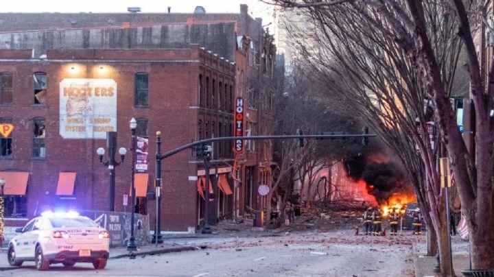 El autor del ataque en Nashville ha sido identificado; habría muerto durante la explosión