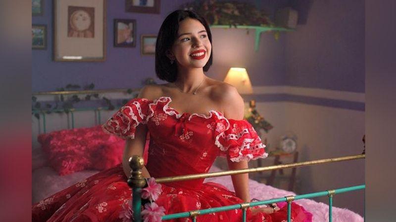 "Ángela Aguilar enamora a fans al posar espectacular en 'outfit' rojo: ""Reina"""
