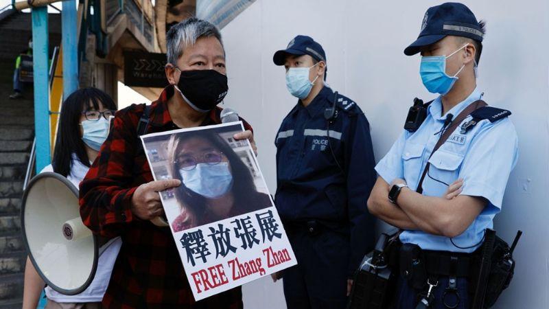 Periodista que documentó los inicios del Covid-19 en Wuhan recibe cuatro años de cárcel