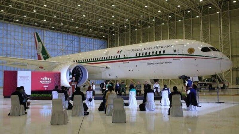 """""""No es favorable"""": Banobras asegura que el avión presidencial no tiene comprador"""
