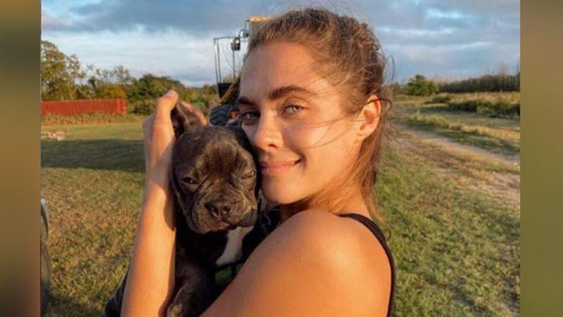 Anna Lesún, modelo rusa, se vuelve viral al espantar a su agresor con fuertes insultos