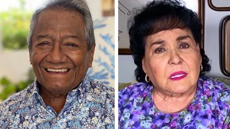 "Carmen Salinas le dedica canción a Armando Manzanero: ""Abrazo, con amor"""