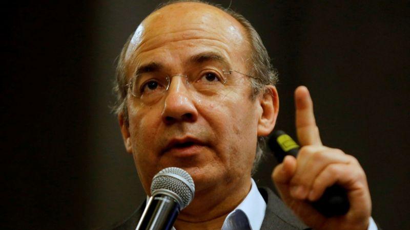 """Felipe Calderón critica apagón masivo en México: """"Cuidado con la falta de pericia"""""""