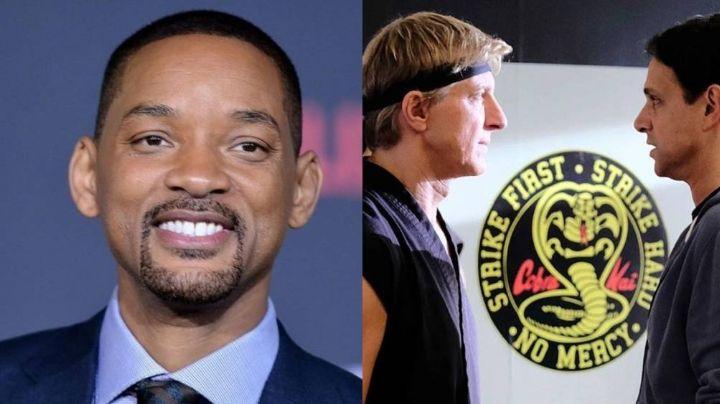 Will Smith tiene créditos en la exitosa serie 'Cobra Kai' y lo presume en sus redes
