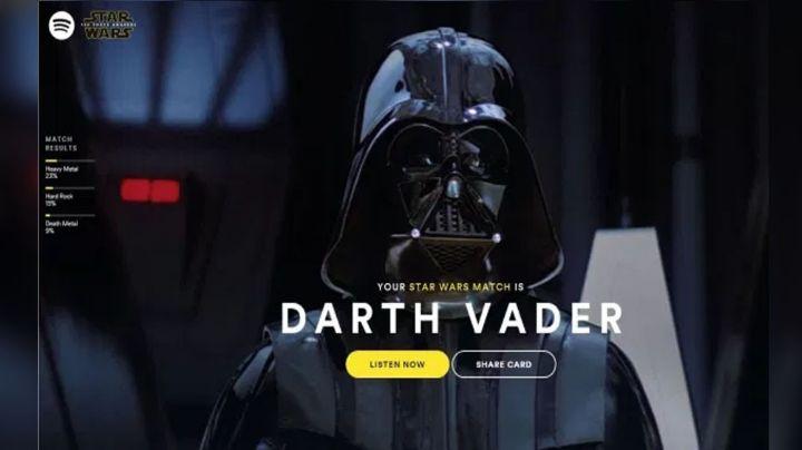 Spotify revela con estas playlists la música que escuchan personajes de 'Star Wars'