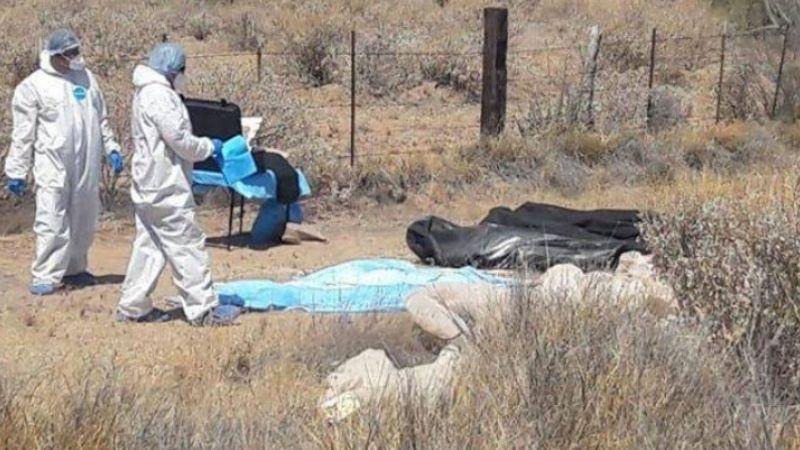 Caborca: Asesinan y abandonan los cuerpos de un padre y su hijo en la Y Griega