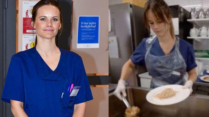 Princesa Sofía de Suecia hace a un lado la corona por ayudar a hospital de Covid-19