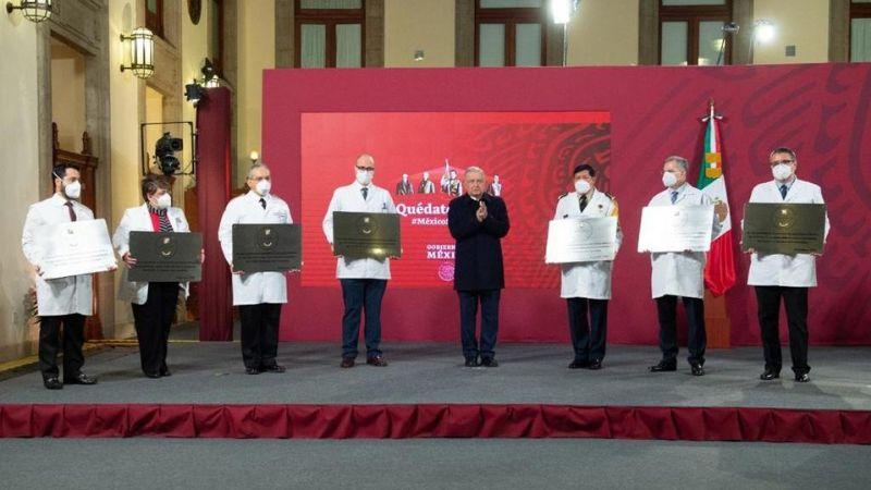 Por arduo trabajo contra Covid-19, 980 hospitales reciben condecoración Miguel Hidalgo