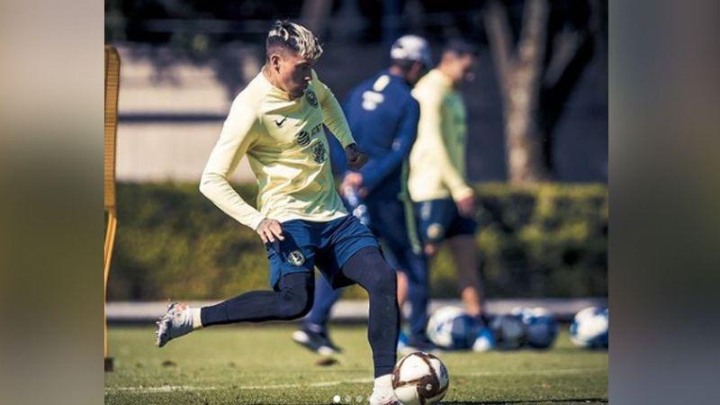 Nico Castillo regresa a los entrenamientos con América tras superar una trombosis