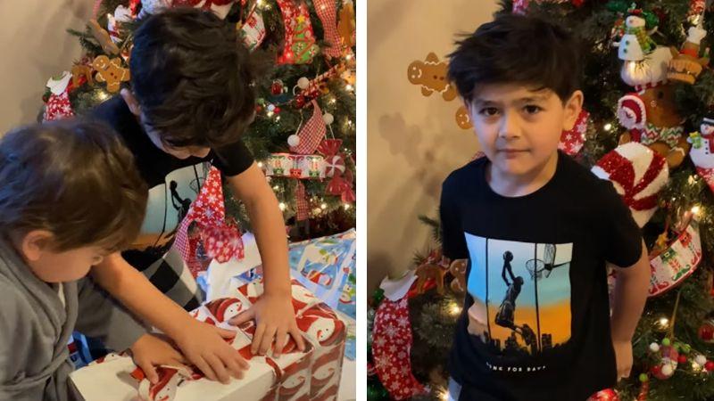 """Niño sufre tremenda decepción al recibir PlayStation 5 en Navidad: """"Quería una PC"""""""