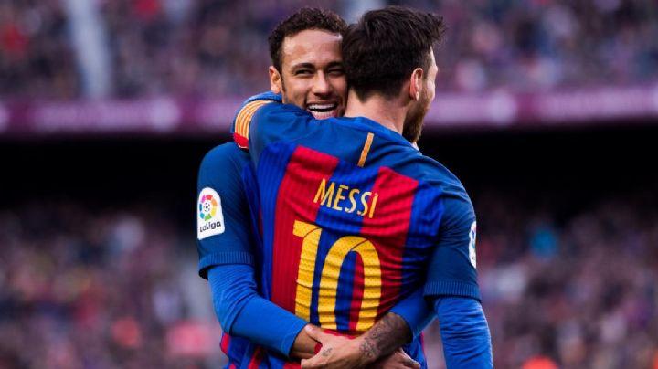 """La bomba de Neymar que sacudió al futbol mundial: """"Quiero volver a jugar con Messi"""""""