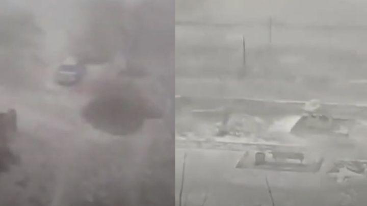 VIDEO: Rusia es cubierta de nieve por poderosa y gélida ventisca invernal