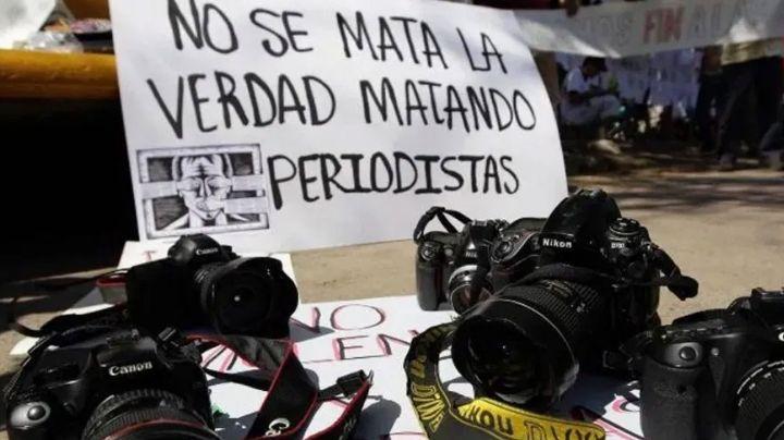México, el país con más periodistas asesinados por cuarta ocasión; son 14 casos