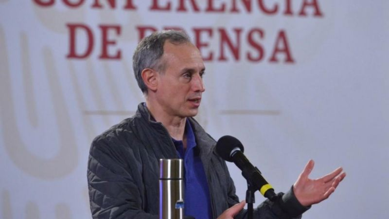 López Gatell: 990 decesos por Covid-19 en un día, el nuevo máximo en diciembre