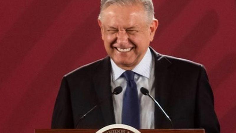 AMLO celebra ser el segundo presidente con mejor aprobación en el mundo