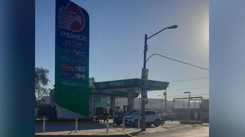 Presunto ladrón fue abatido por un guardia luego de intentar asaltar una gasolinera