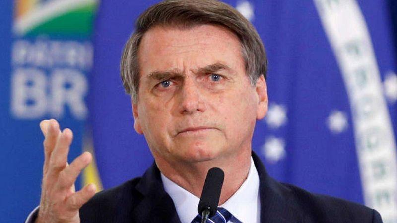 """Bolsonaro critica legalización del aborto en Argentina: """"Nunca se aprobará en Brasil"""""""