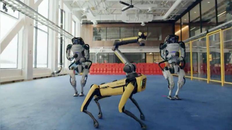 VIDEO: Robots sacan sus mejores pasos al ponerse a bailar rock con todo el ritmo