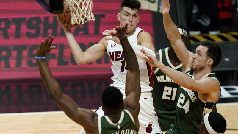 El Heat venga humillación; remonta y se impone ante los Bucks