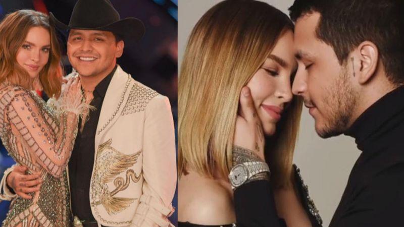 Belinda, Christian Nodal y sus escándalos por pasar de amor de 'La Voz' a pareja del año