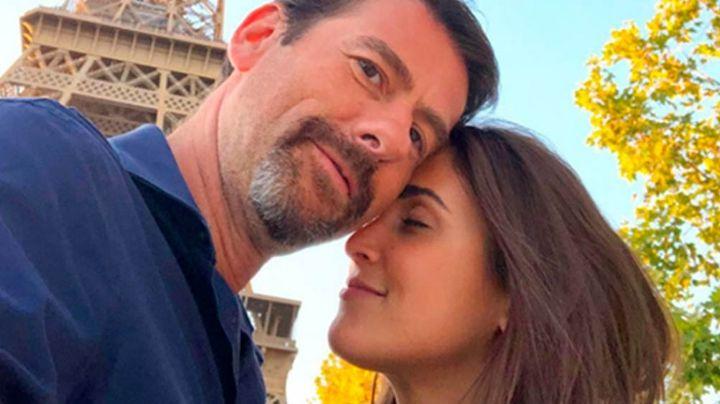 Sofía Rivera Torres se despide de este 2020 junto a Videgaray desde la tina