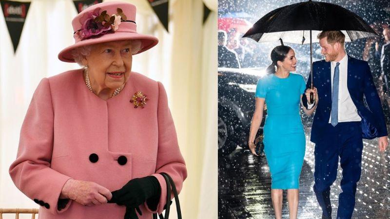 """Reina Isabel II tendría acuerdos del Megxit que """"cortaría alas"""" del Príncipe Harry y Meghan Markle"""