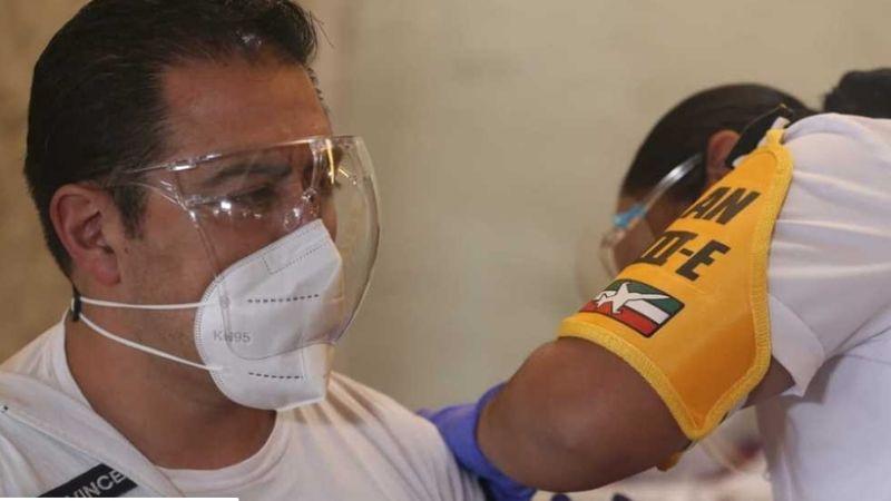 SSA confirma más de 24 mil trabajadores de salud vacunados contra Covid-19 en cinco días