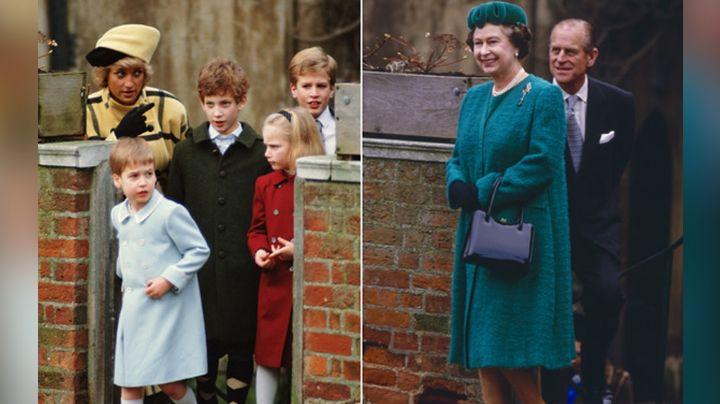 La Navidad de la Reina Isabel II marcada por Lady Di que llegaría a 'The Crown'