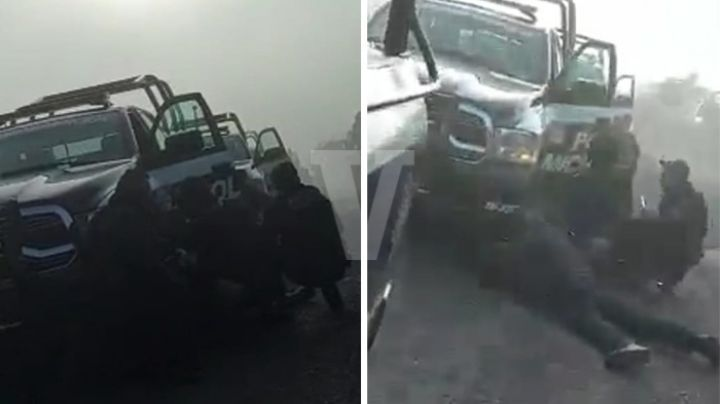 ¡De película! Así fue el enfrentamiento entre CJNG y las fuerzas federales en Michoacán