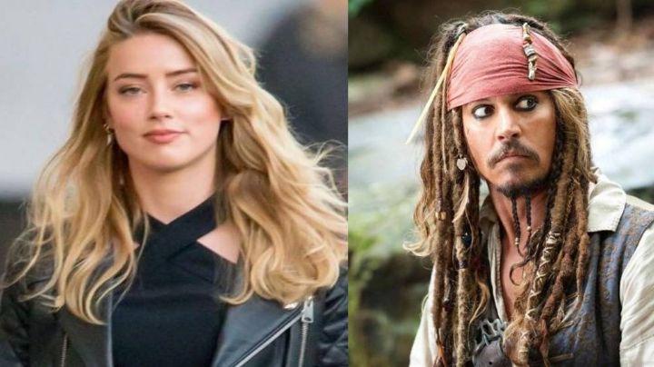 Amber Heard podría unirse a la franquicia de Piratas del Caribe y los fans enfurecen