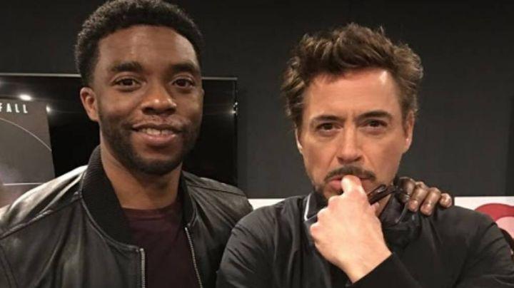 Robert Downey Jr recuerda a su difunto amigo Chadwick Boseman con sentimentales palabras