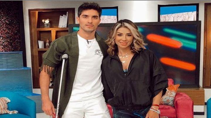 """Ferka 'estalla' contra quienes señalan a su novio Christian Estrada de """"vividor"""""""