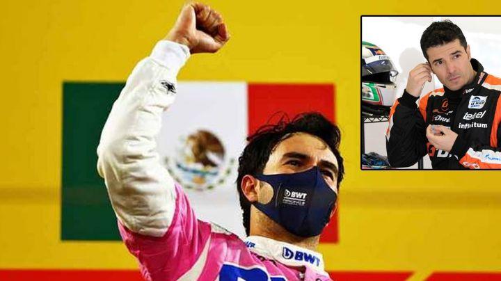 El piloto Memo Rojas dedica emotivas palabras a Sergio 'Checo' Pérez por su triunfo