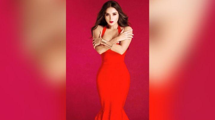 Serrath de 'Enamorándonos', paraliza a todo TV Azteca con seductora pose