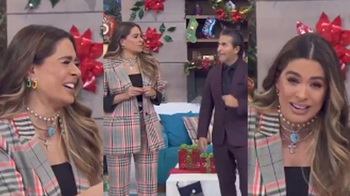 """Galilea Montijo comete error en 'Hoy' al hablar de Frida Sofía y Enrique Guzmán: """"Está ca..."""""""
