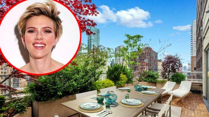 La actriz Scarlett Johansson puso a la venta su lujoso departamento en Nueva York