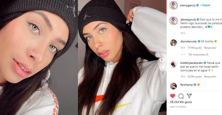 Alexia De Enamorandonos Hipnotiza A Todo Instagram Al Exhibirse De Esta Manera Tribuna