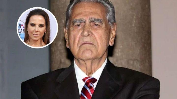 Eric del Castillo se disgusta con su hija, Kate, por hablar del maltrato que vivió con su ex