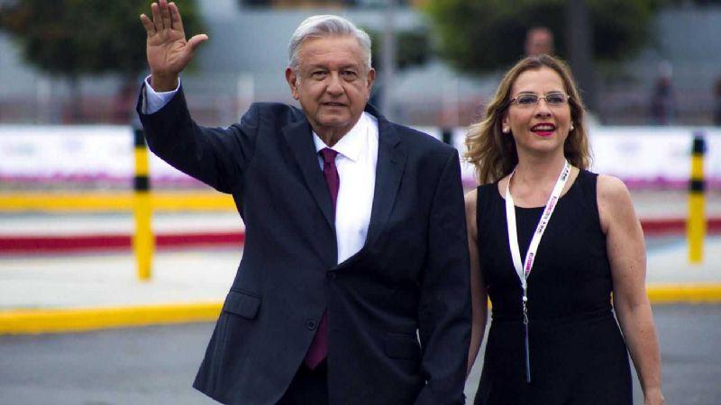 """""""Es un honor volar con Obrador"""": AMLO recibe el apoyo de Beatriz Gutiérrez"""