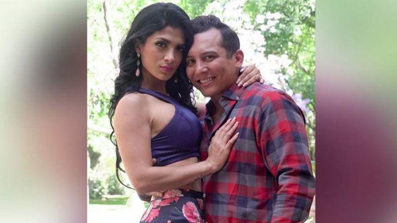 Kimberly Flores 'estalla' de celos al ver a Edwin Luna junto a guapa modelo