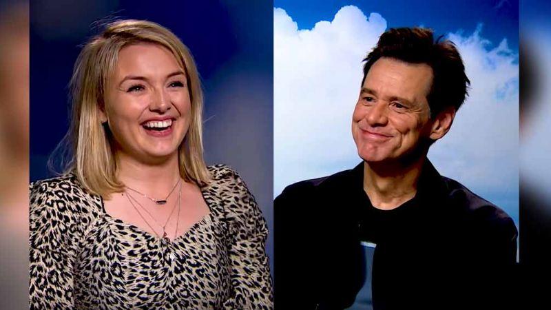 VIDEO: ¡Qué lanzado! Jim Carrey y su descarado coqueteo con reportera