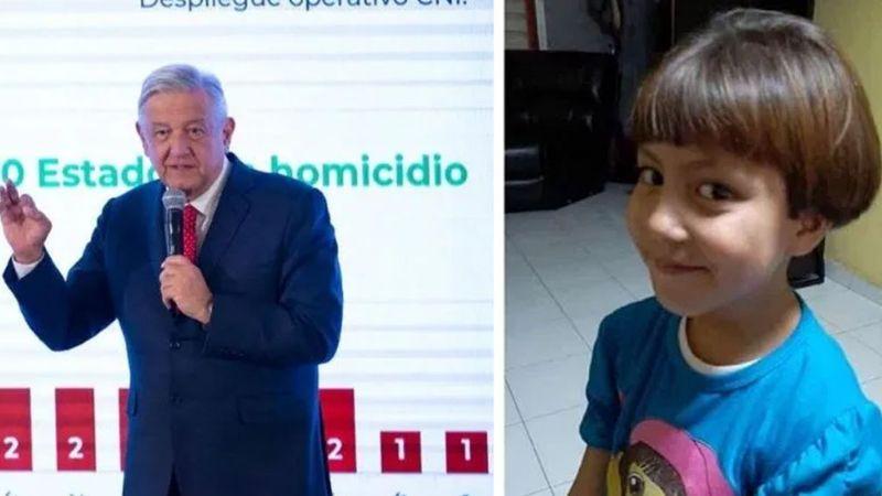 """""""La cárcel no es la solución"""": AMLO sobre feminicidio de Fátima, de 7 años"""