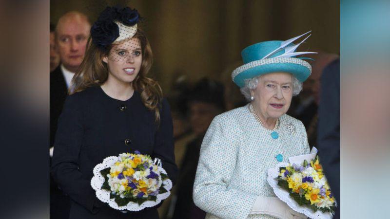 Reina Isabel II hace increíble regalo de bodas a su nieta Beatriz de York