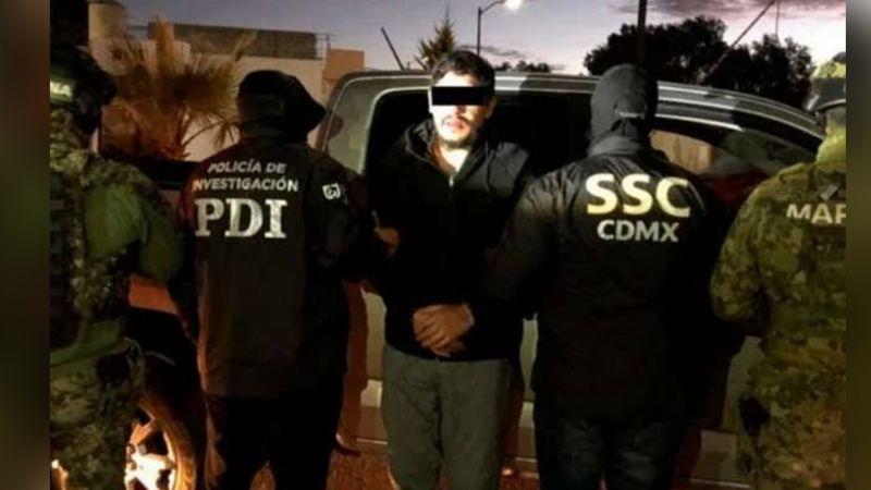 'El Lunares', líder de La Unión Tepito es llevado al reclusorio para audiencia