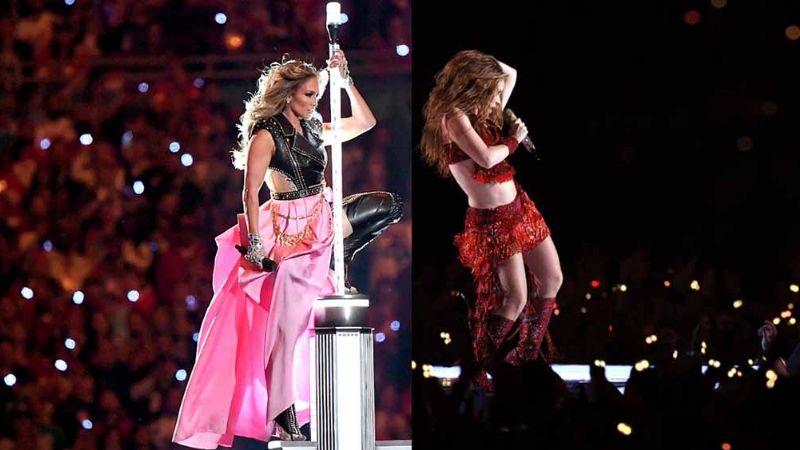 Jennifer Lopez y Shakira arman fiesta latina en el show del Super Bowl