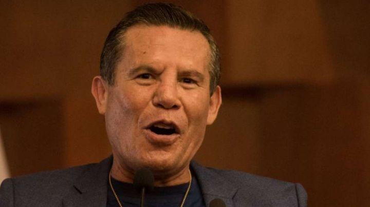Julio César Chávez preocupado por los nietos de 'Cantinflas' tras su rehabilitación