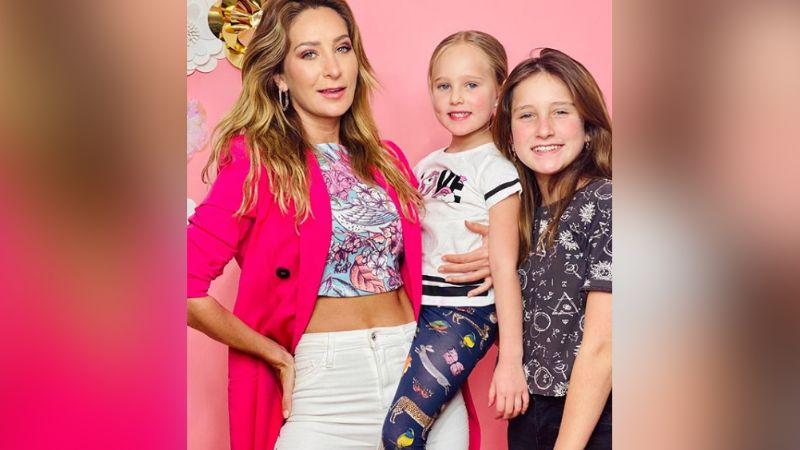 Geraldine Bazán comparte primer foto de su hija, Elissa, en el set de grabación