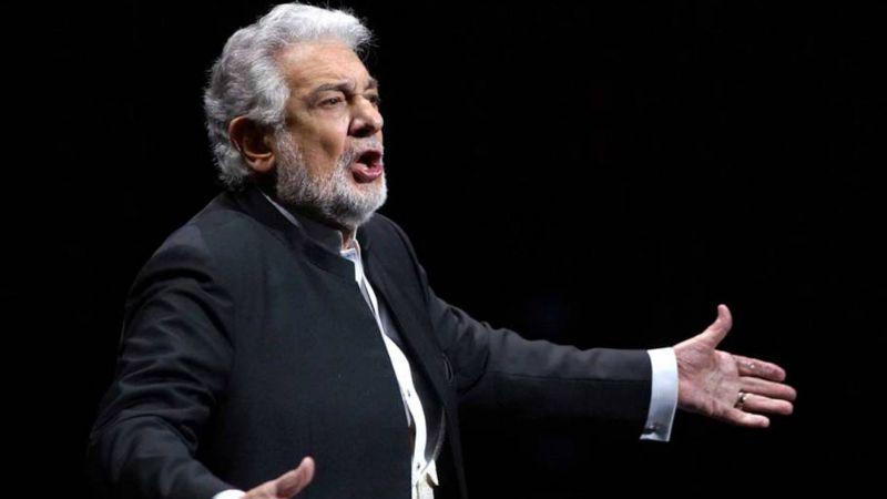 """""""Lo lamento mucho"""": Plácido Domingo reconoce acusaciones por acoso sexual"""