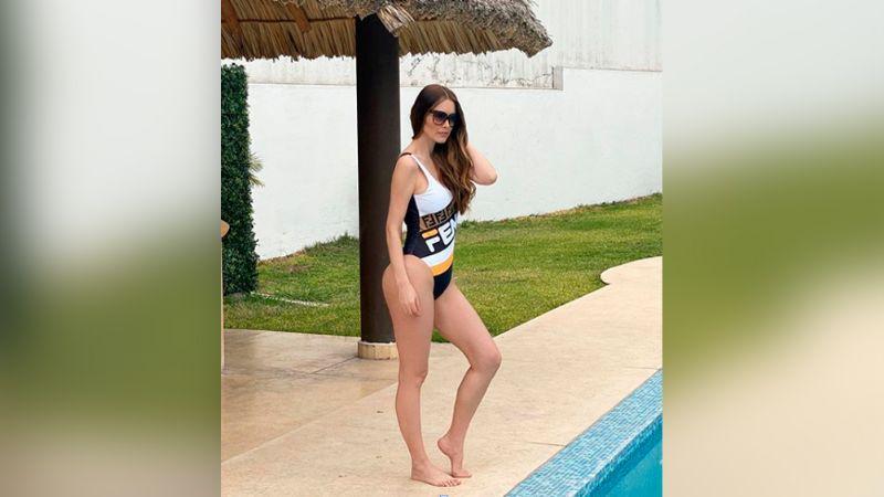 """Muñequita preciosa"": Marlene Favela 'derrite' las redes con su hija Bella"