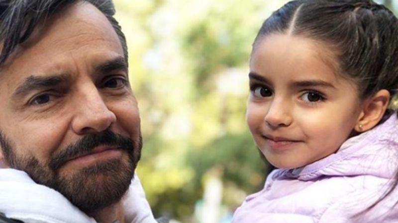 VIDEO: A sus 5 años, Aitana sorprende a Eugenio Derbez al cantar en inglés